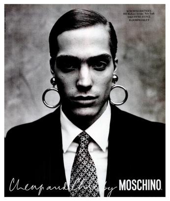 Jason Fedele Moschino